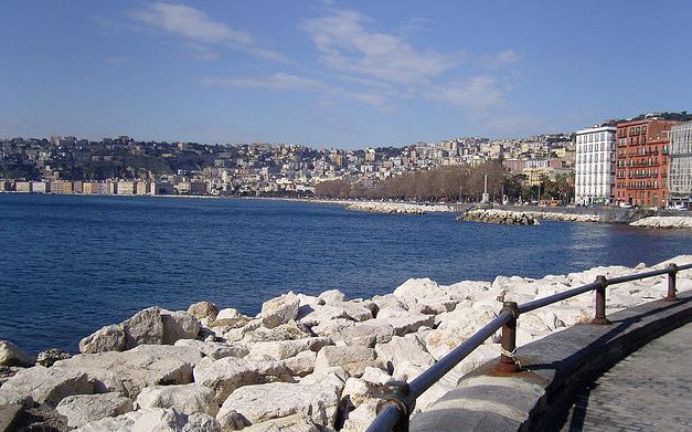 Via Partenope Napoli